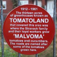 Tomatoland plaque