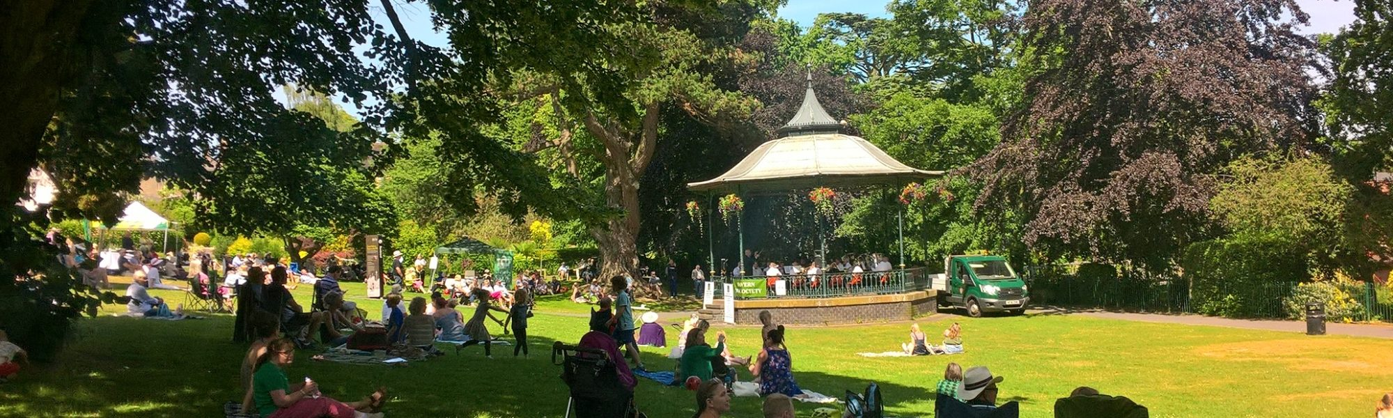 Bandstand in Priory Park 2017