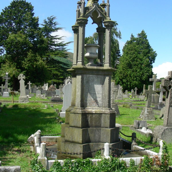 Graves at Malvern Cemetery