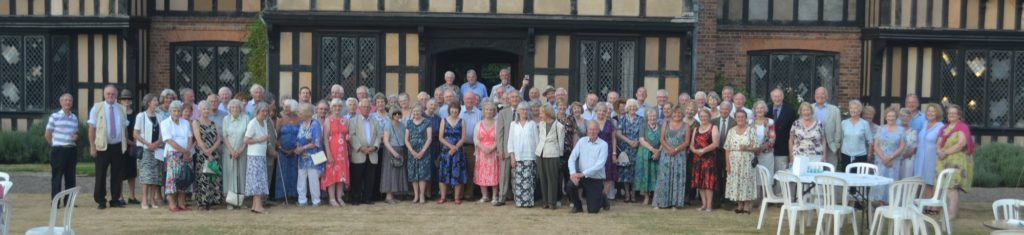 Members of Malvern Civic Society at Severn End