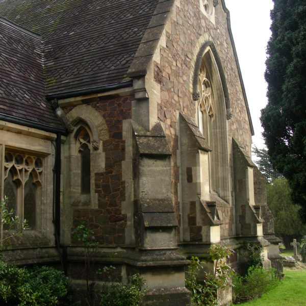 Malvern Cemetery Chapel side view
