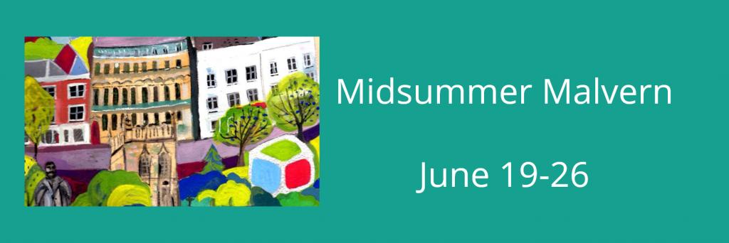 Midsummer Malvern banner
