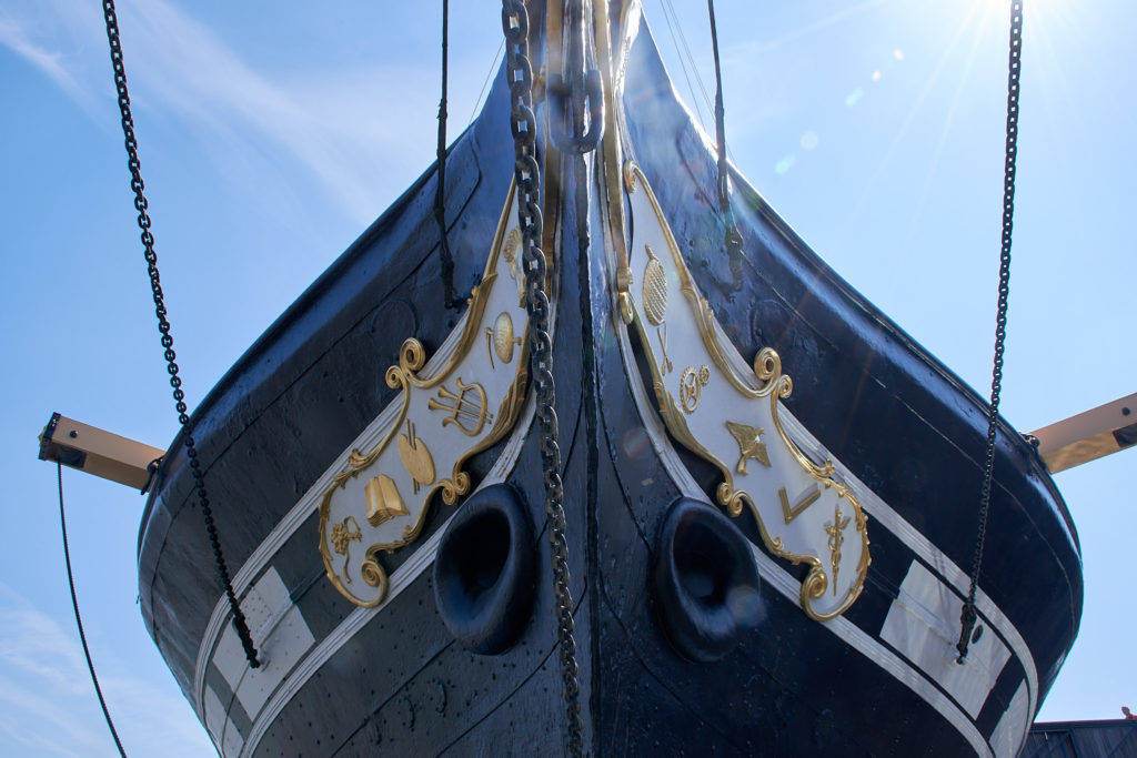 Bow of the SS Great Britain