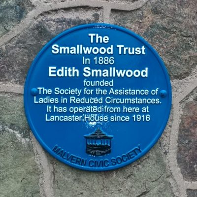 Edith Smallwood plaque