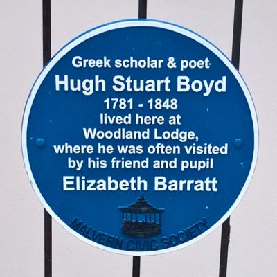 Hugh Stuart Boyd Plaque