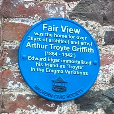 Arthur Troyte Griffiths plaque