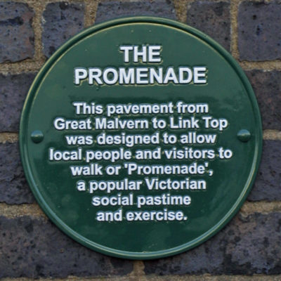 Water Cure Promenade plaque