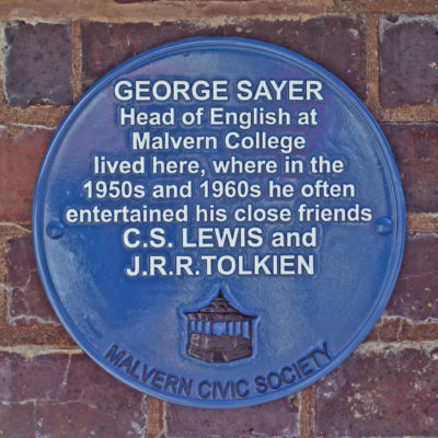 George Sayer plaque
