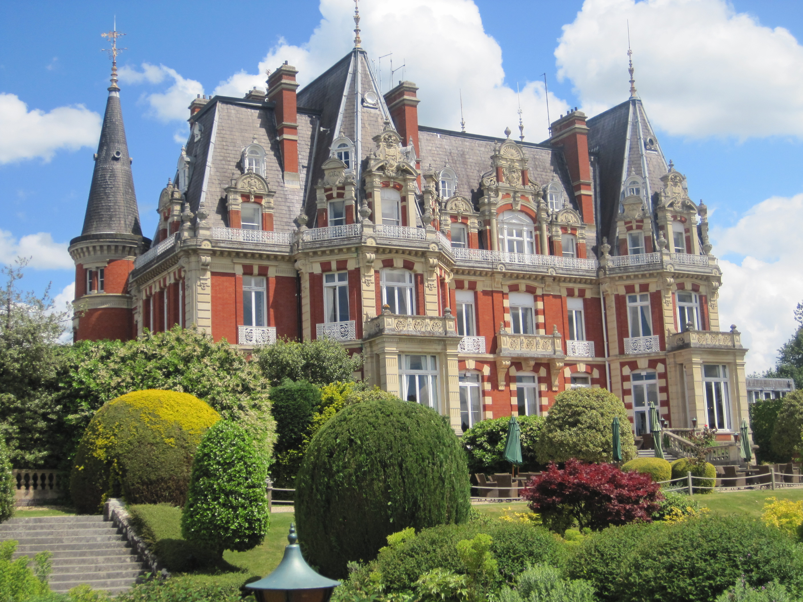 A Local visit to Chateau Impney Hotel