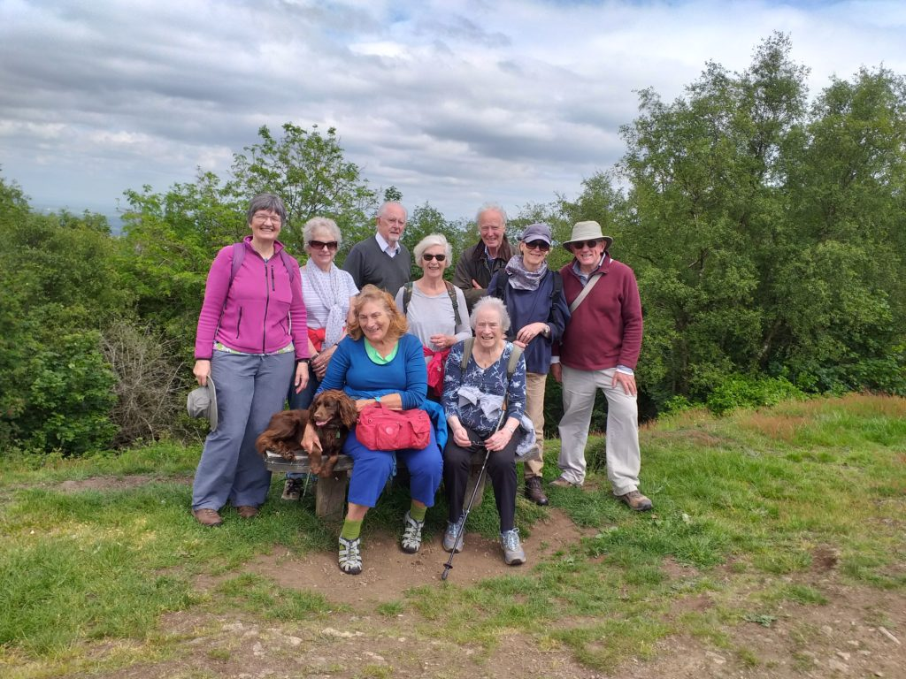 Members on the Country Walk