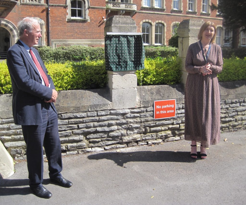 Unveiling of the Plaque at Malvern St James