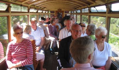 Visit to the Brecon Mountain Railway arranged by the Friends of Malvern's Railway group