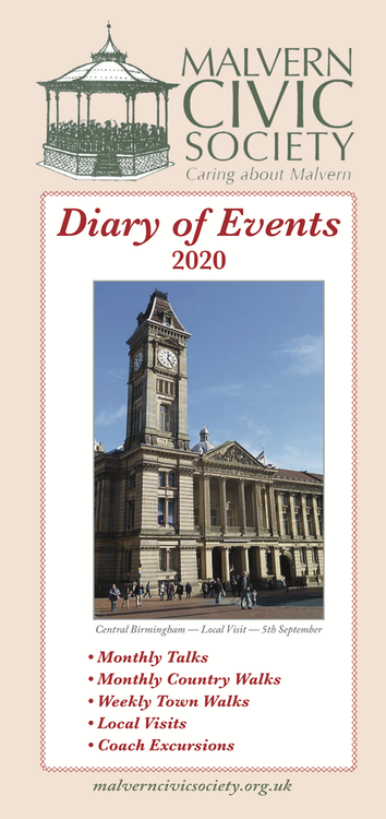 Diary of Events 2020