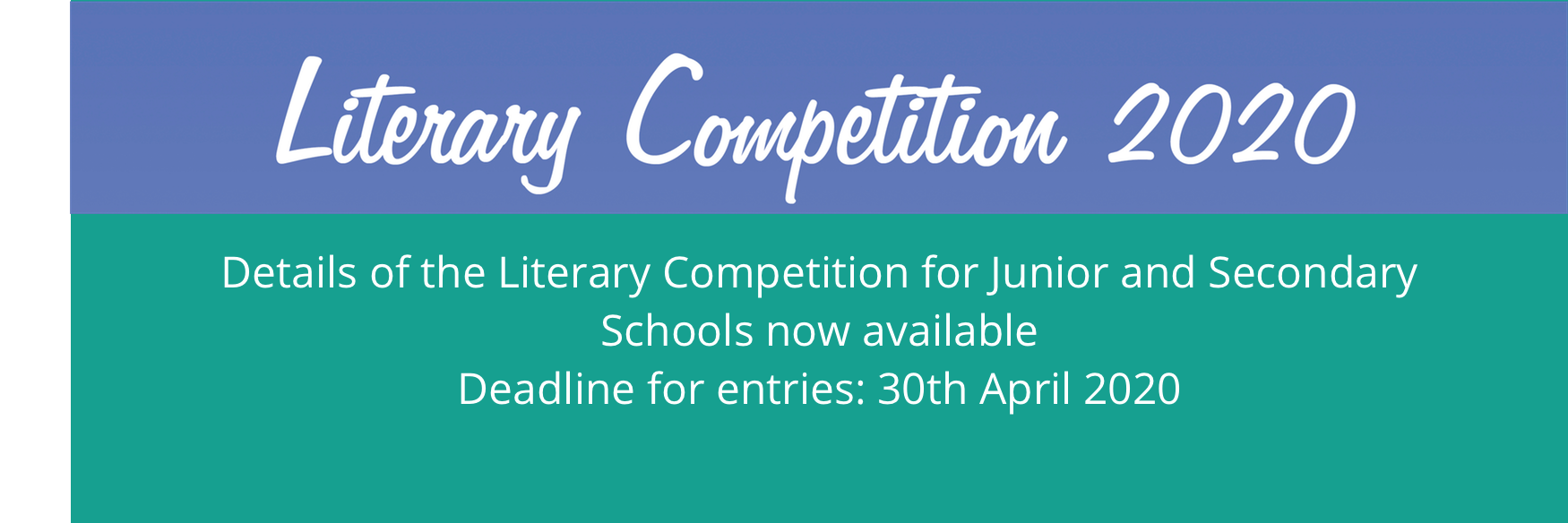 Schools Literary Competition 2020