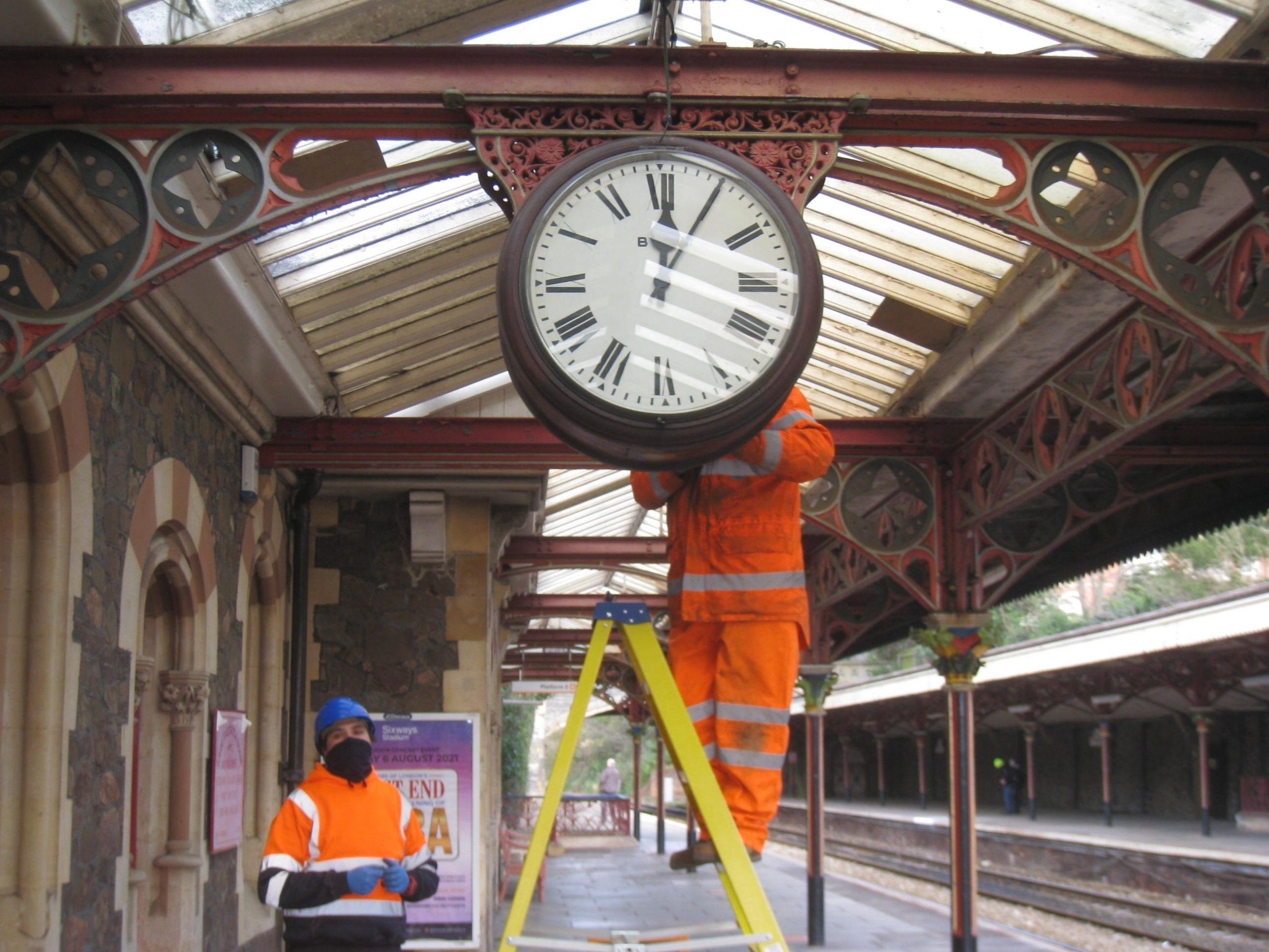 Great Malvern Station Clock