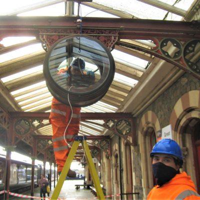 Great Malvern Station Clock - restoration