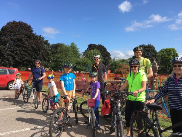 Sunday 30th June - Cycle Ride