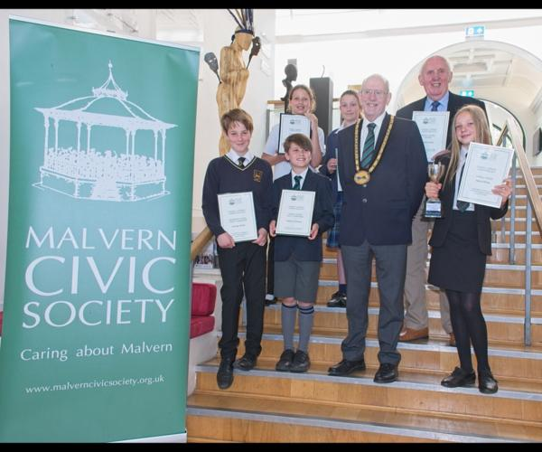 Saturday 22nd June - Schools' Literary Competition Prize Giving  at Malvern Theatre