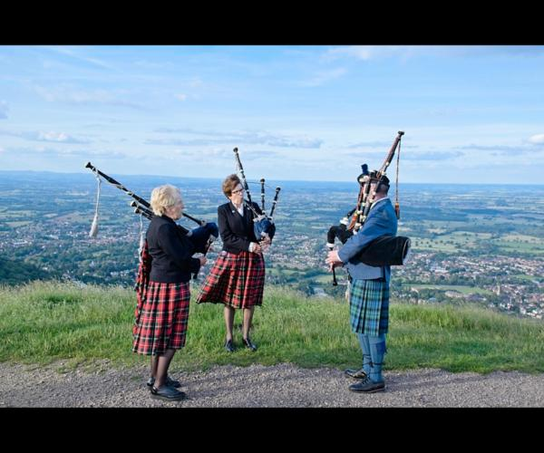 Pipers at the Beacon