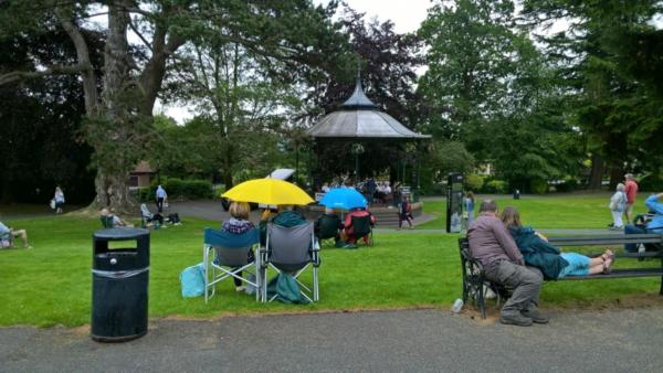 Sunday 23rd June - Bands in the Park